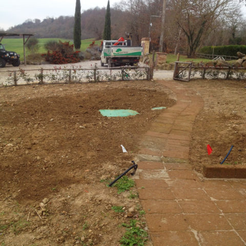 Progettazione impianti irrigazione giardino Valdarno Caiani Vivai Garden