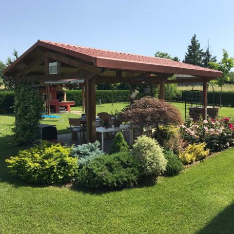 Realizzazione aiuole Valdambra Caiani Vivai Garden
