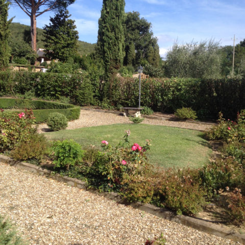 Realizzazione aiuole Valdarno Caiani Vivai Garden