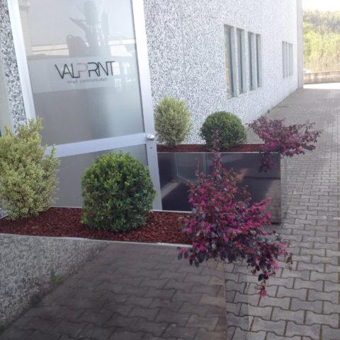 Realizzazione aree verdi aziende Valdarno provincia Arezzo Siena Caiani Vivai Garden