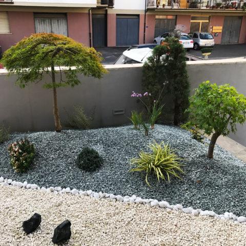 Realizzazione aree verdi condomini Valdarno Caiani Vivai Garden