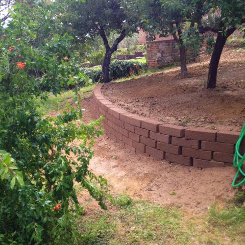 Realizzazione aree verdi terrazzate provincia Arezzo Siena Caiani Vivai Garden