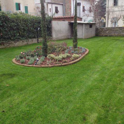 Realizzazione giardini aiuole Valdarno provincia Arezzo Siena Caiani Vivai Garden