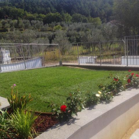 Realizzazione giardini per privati provincia Arezzo Siena Caiani Vivai Garden