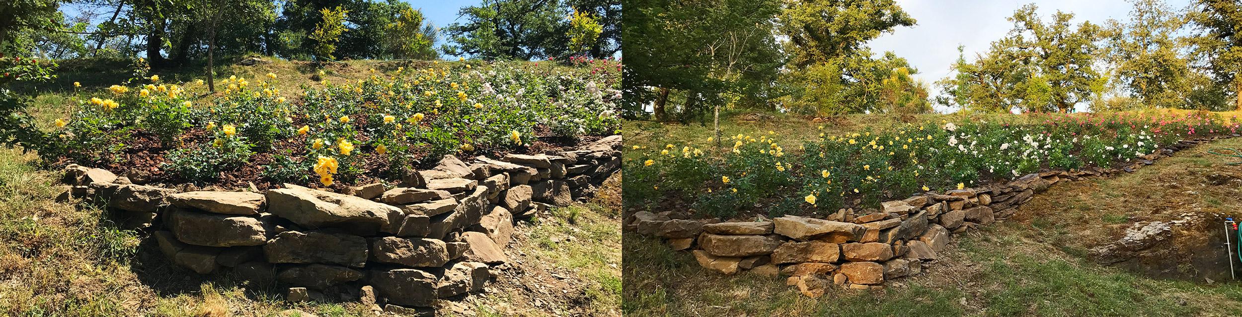 Giardini rocciosi e giardini rustici